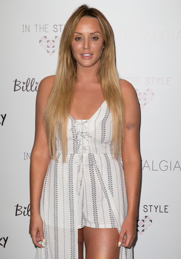 Charlotte Crosby - 'In The Style' Photocall held at The Sanctum Soho Hotel 4 May 2016.