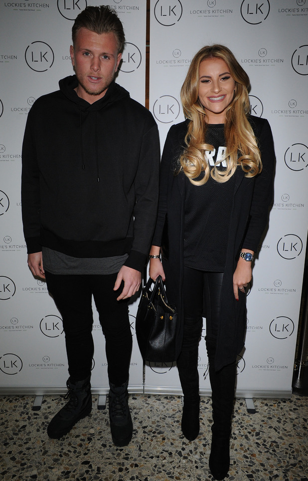 Georgia Kousoulou and Tommy Mallet  at Lockie's Kitchen opening, 22/2/16