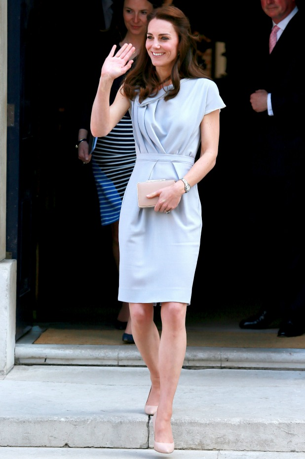 The Duchess of Cambridge attends a lunch in support of the Anna Freud Centre at Spencer House 4 May 2016