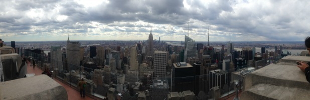 View of NYC from Top of the Rock