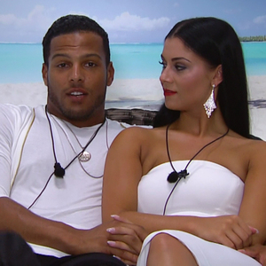 Love Island: Luis and Cally. 12 July 2015.