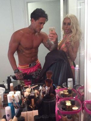 Stephen Bear and Holly Rickwood, Ex On The Beach 9 May