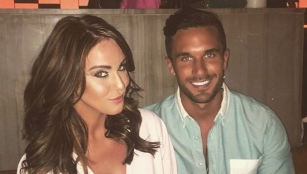 Vicky Pattison and Alex Cannon on last night in Dubai 13 May