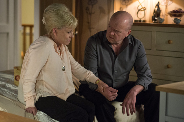 EastEnders, Peggy tells Phil she's dying, Thu 12 May