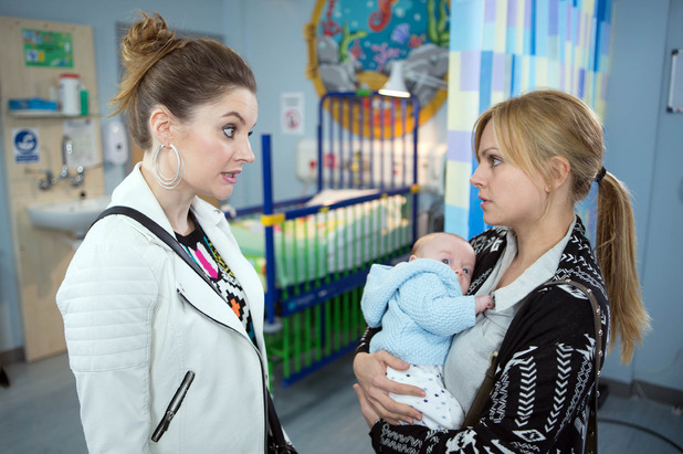Corrie, Kylie gives Sarah a talking to, Wed 11 May
