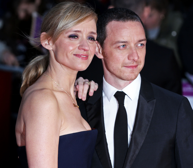 James McAvoy and Anne-Marie Duff at Suffragette premiere, 10/08/2015