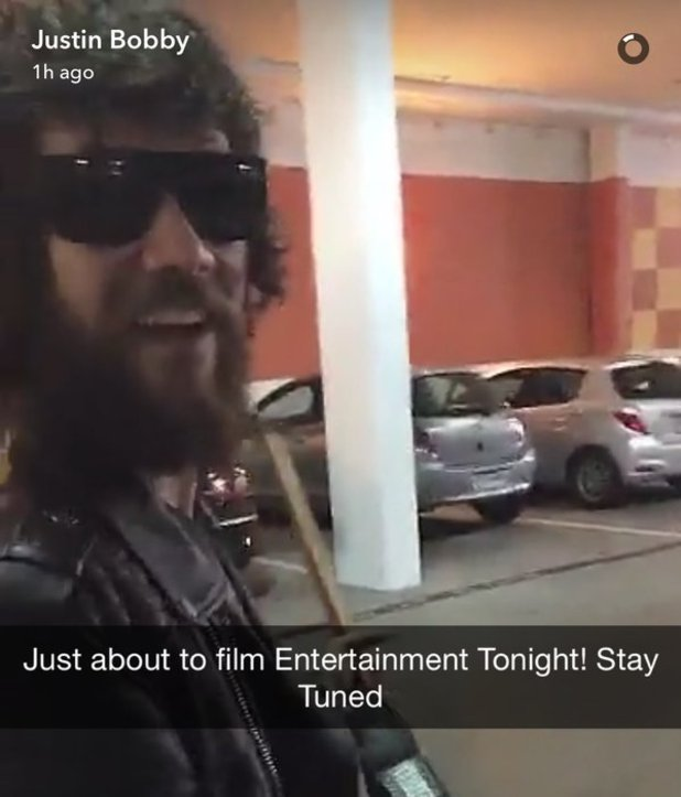 Spencer Pratt shares new picture from Justin Bobby's snapchat - 10 May 2016