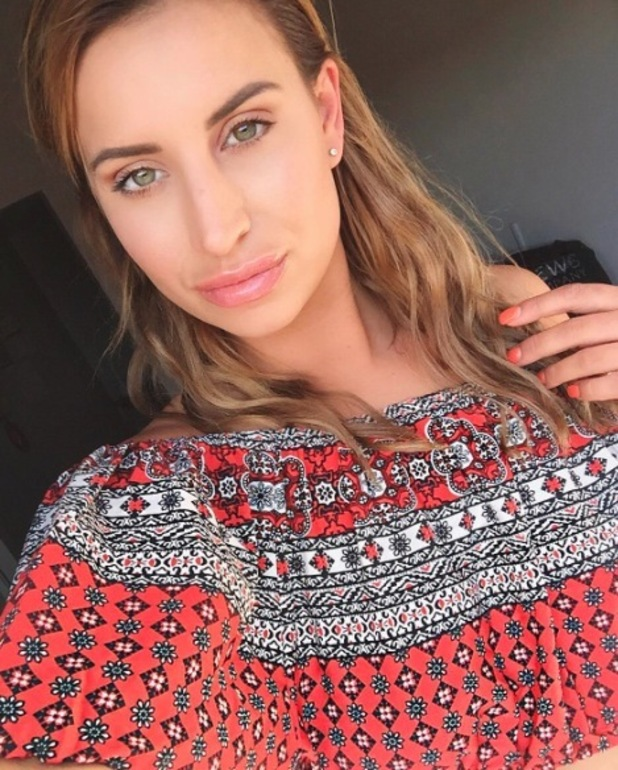 Former TOWIE star Ferne McCann wears boocoo co-ordinates in Cannes, France, 12th May 2016