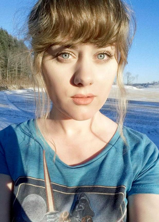 Ellinor Hellborg without her Adele-style make up