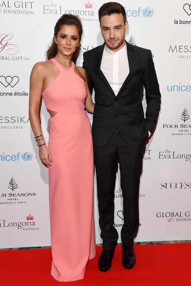 Global Gift Gala, Four Seasons Hotel, Paris, France - 09 May 2016 Cheryl and Liam Payne 9 May 2016
