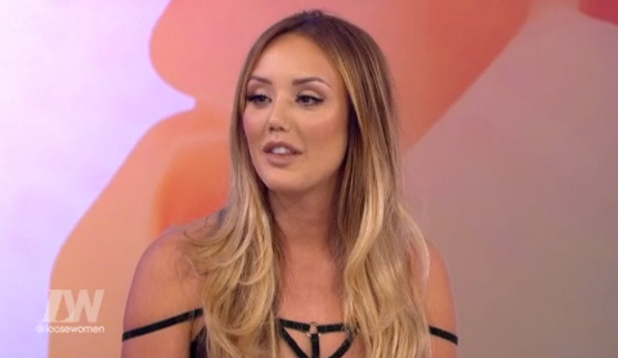Charlotte Crosby on Loose Women 10 April 2016