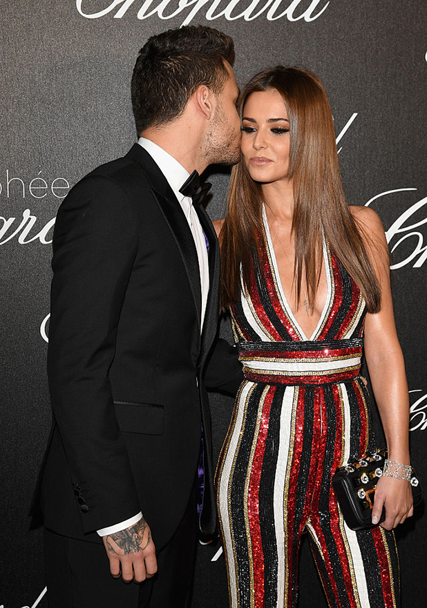 Liam Payne and Cheryl Cole attend the Chopard Trophy Ceremony during The 69th Annual Cannes Film Festival on May 12, 2016 in Cannes,