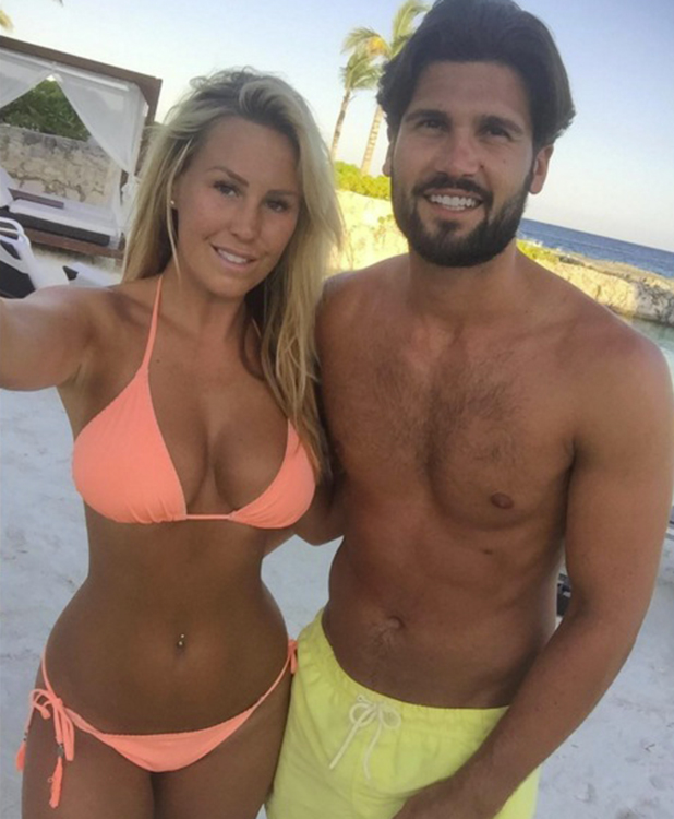 Kate Wright wishes Dan Edgar a happy birthday using photo from Mexico holiday 12 May 2016