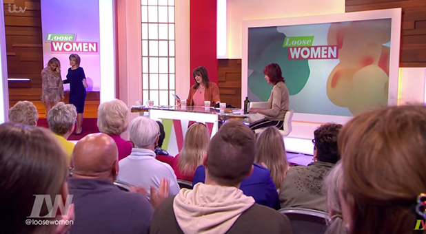 Loose Women: Katie Price jokingly escorted off set after sex talk 10 May 2016