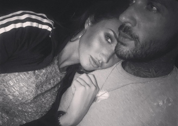 Megan McKenna and Pete Wicks in a selfie taken 9 May 2016