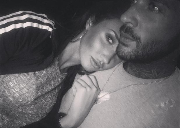 Megan McKenna and Pete Wicks in a selfie taken 9 May 2016
