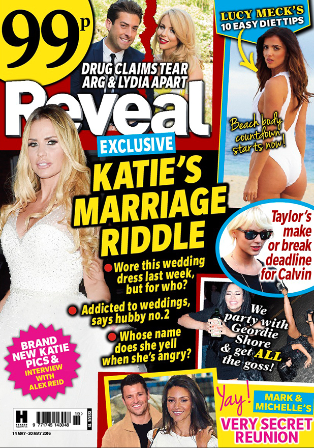 Reveal magazine cover for issue 19, 2016