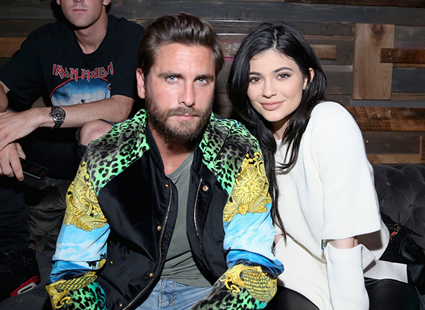 Scott Disick (L) and Kylie Jenner attend NYLON Young Hollywood Party, presented by BCBGeneration at HYDE Sunset: Kitchen + Cocktails on May 12, 2016 in West Hollywood, California.