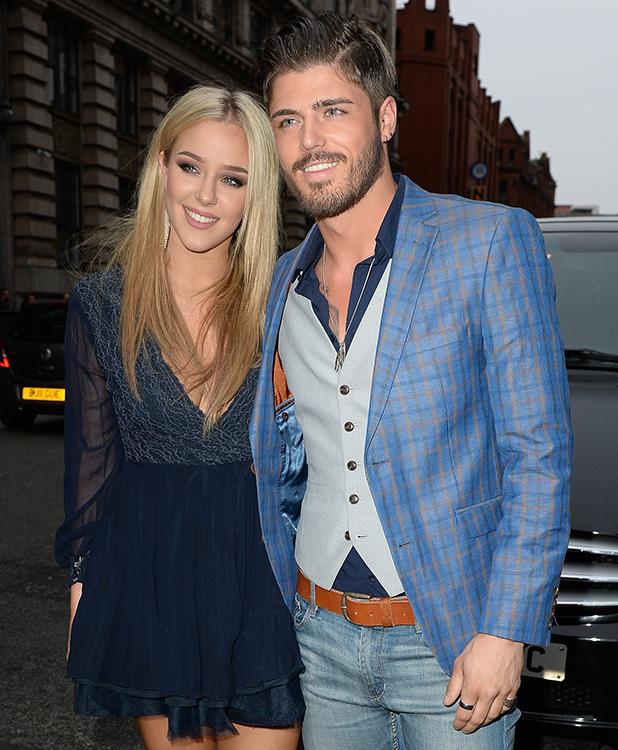 Sam Reece spotted out for the first time with his new girlfriend Taylor Ward 6 May 2016