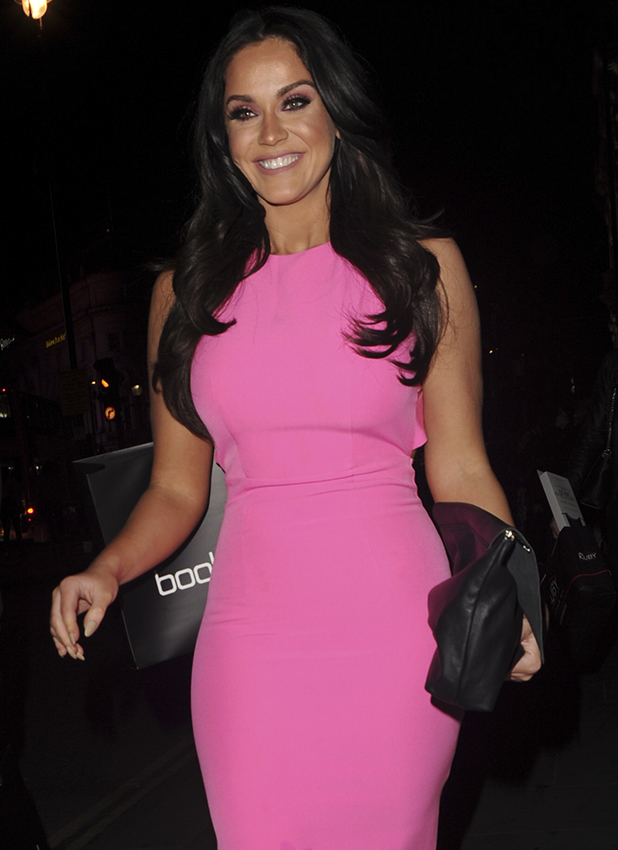 Vicky Pattison at Scotty T's boohoo MAN launch in April, London