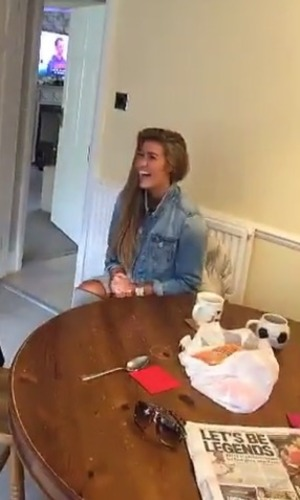 Stephen Bear introduces Lillie Lexie Gregg to his family 18 May