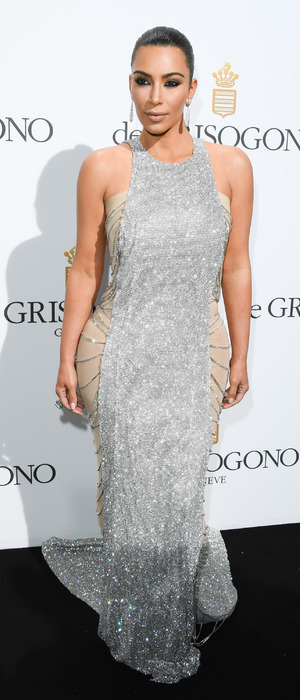 Keeping Up With The Kardashians star Kim Kardashian attends the De Grisogono Party, 69th Cannes Film Festival, Cannes, France, 17th May 2016