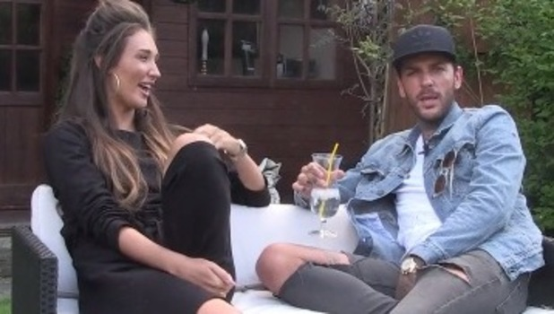 Pete Wicks and Megan McKenna, TOWIE video 19 May