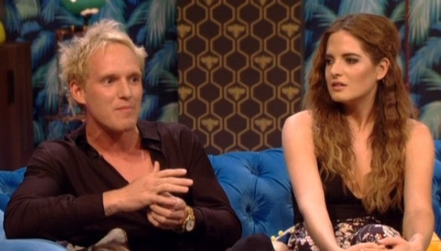 Jamie Laing and Binky Felstead, Up Late With Rylan 19 May