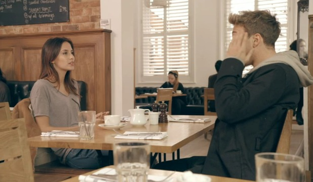 Lucy Watson and Sam Thompson clash, Made In Chelsea 16 May