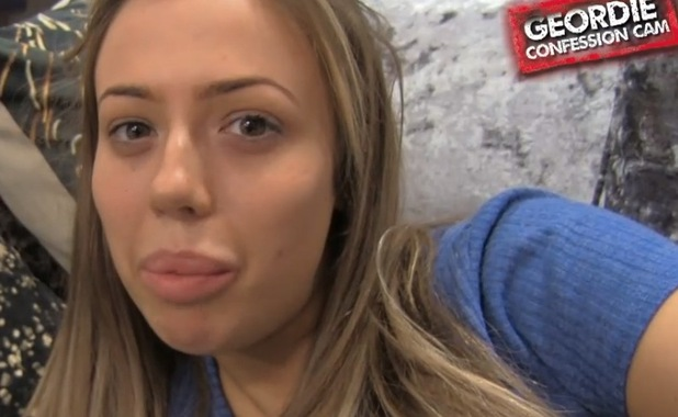 Holly Hagan, Geordie Shore Confession Cam 17 May