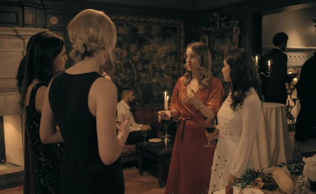 Lucy Watson clashes with Rosie Fortescue, Louise Thompson - Made In Chelsea 16 May
