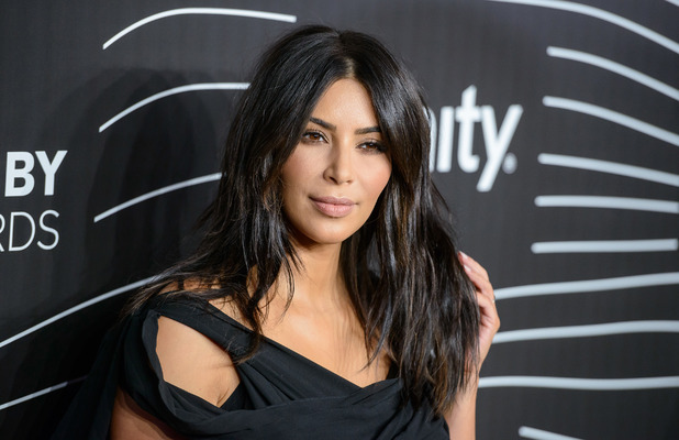Kim Kardashian ditches the lashes, lipstick, extensions and Spanx at the Webby Awards in America, 15th May 2016