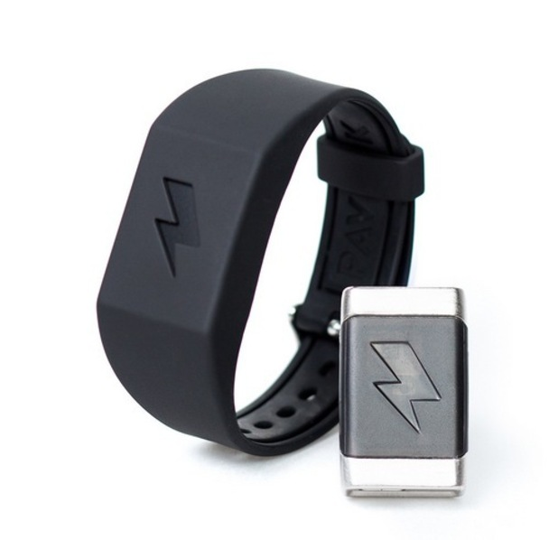The Pavlok bracelet delivers an electric shock to the wearer if they spend too much