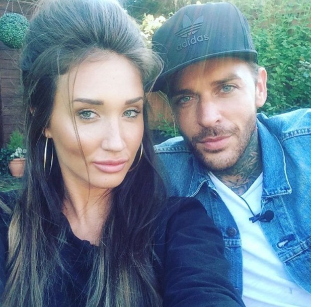 Megan McKenna and Pete Wicks take part in TOWIE Snapchat - 16 May 2016