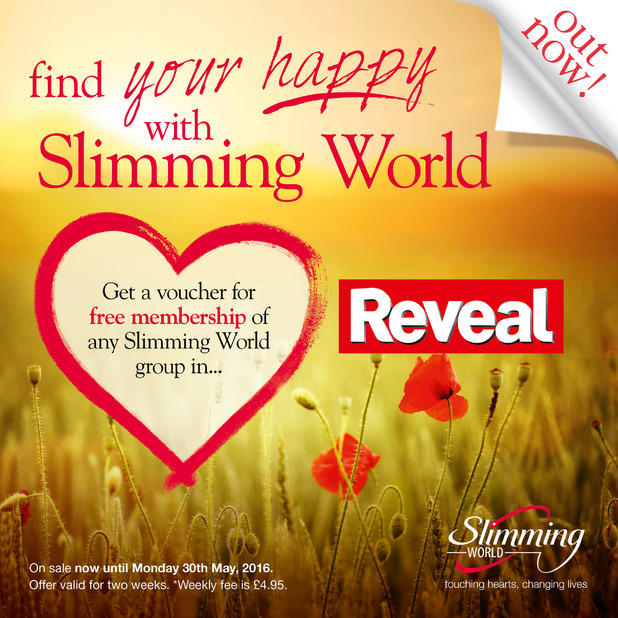 Slimming World Exclusive Offer Save 10 Only For Reveal