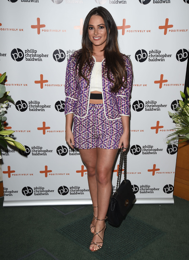 TOWIE's Courtney Green at the Philip Christopher Baldwin's HIV and Women Awareness Event in Parliament, London, 18th May 2016