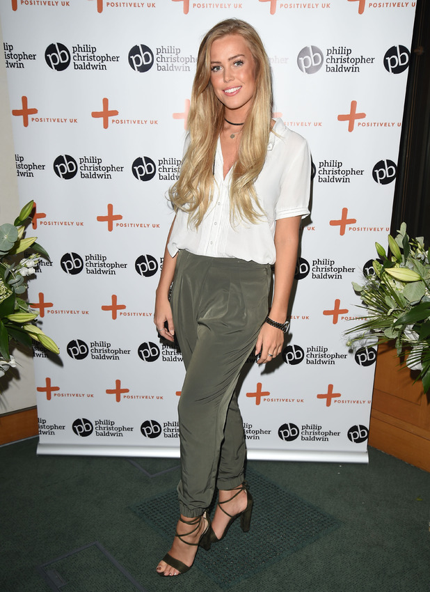 TOWIE's Chloe Meadows attends the Philip Christopher Baldwin's HIV and Women Awareness Event in Parliament, London, 18th May 2016