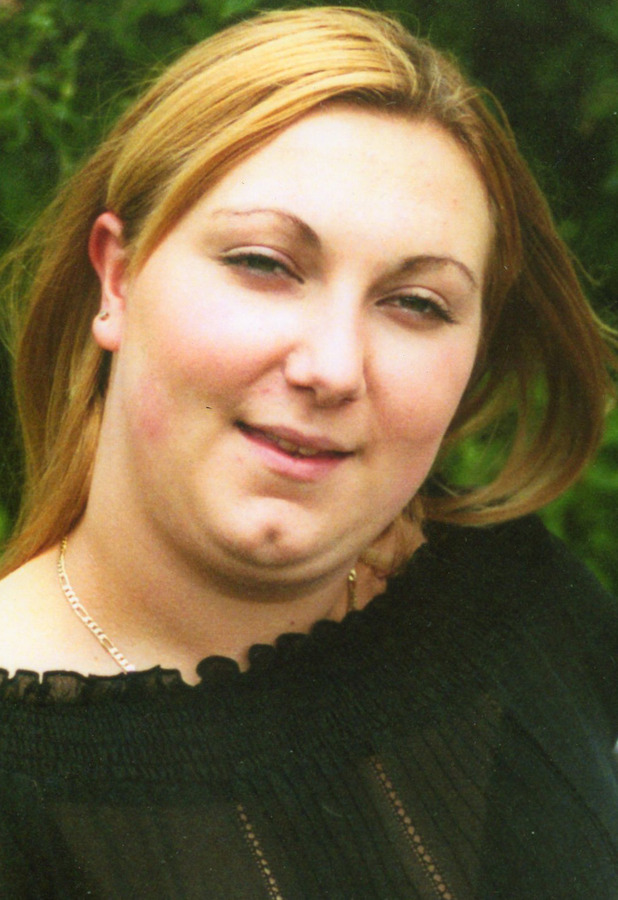 Jodie Rigby-Mee before joining with Slimming World
