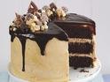 Chocolate and Peanut Butter Drip Cake recipe by John Whaite