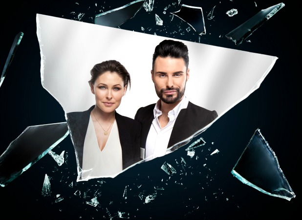 Big Brother summer 2016 promotional picture: Rylan Clark-Neal and Emma Willis
