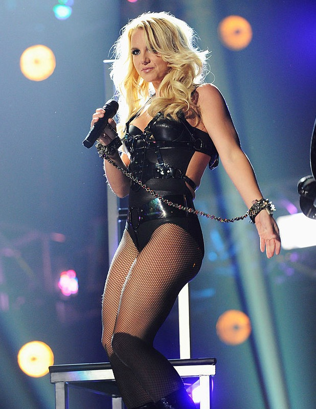 Britney Spears performs onstage during the 2011 Billboard Music Awards at the MGM Grand Garden Arena May 22, 2011 in Las Vegas, Nevada.
