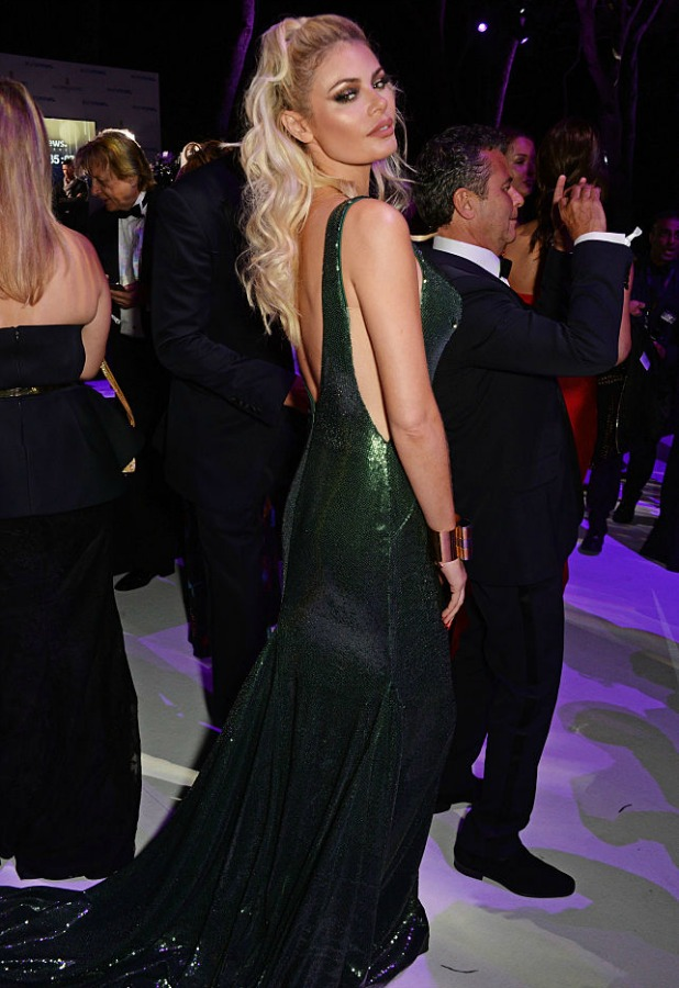 Chloe Sims attend the de Grisogono party during the 69th Cannes Film Festival at Hotel du Cap-Eden-Roc on May 17, 2016 in Cap d'Antibes, France. (Photo by David M. Benett/Dave Benett/Getty Images)