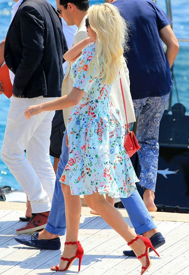 Chloe Sims seen during the 69th annual Cannes Film Festival on May 17, 2016 in Cannes, France. (Photo by Robino Salvatore/GC Images)