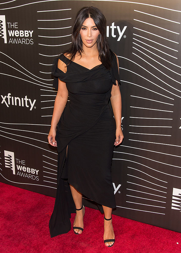Kim Kardashian attends The 20th Annual Webby Awards at Cipriani Wall Street on May 16, 2016 in New York City. (Photo by Gilbert Carrasquillo/FilmMagic)