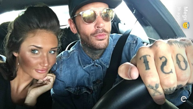 TOWIE: Megan McKenna and Pete Wicks reunited Snapchat, 15 May 2016