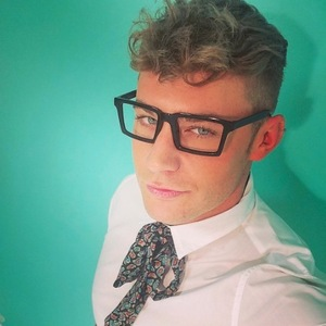 Geordie Shore's Scotty T shows off his new look in glasses on boohooMAN shoot, 25th May 2016