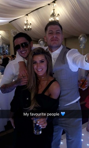 Stephen Bear and Lillie Lexie Gregg at family christening 22 May