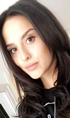 Lucy Watson, Made In Chelsea takes to Snapchat to show off her much darker hair, 26th May 2016