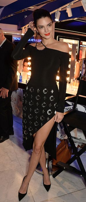 Keeping Up With The Kardashians star Kendall Jenner launches The Estee Edit in London, Selfridges, 26th May 2016