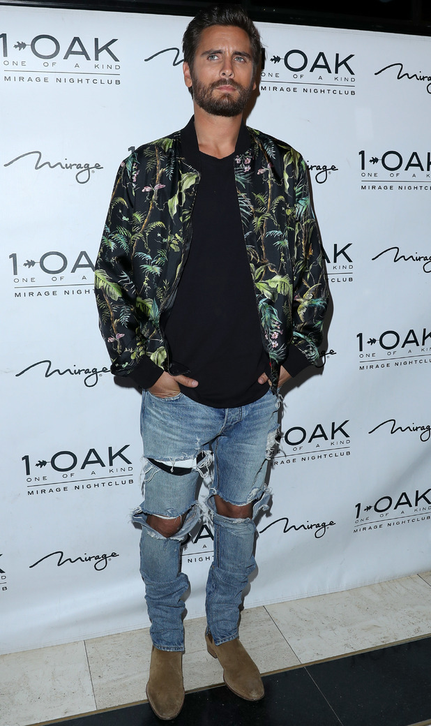 Scott Disick celebrating his birthday at  1Oak Nightclub inside Mirage Hotel & Casino, Las Vegas, 28/5/16